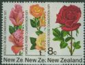 NZ SG967-9 First World Rose Convention, Hamilton set of 3